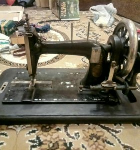 Швейная машинка зингер 19век