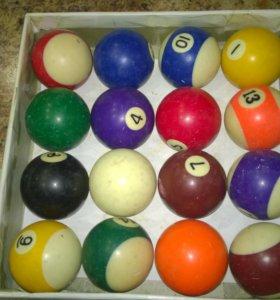 Бильярдные шары Billiard Balls+Кий