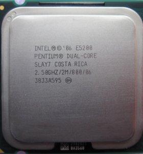 Процессор Intel Pentium E5200