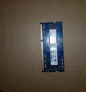Оперативная память 4ГБ. DDR3