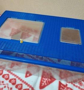 Пластиковый аквариум террариум