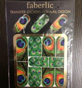 Переводные наклейки на ногти (слайдер дизайн).