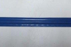 Металлический евроштакетник синий
