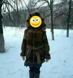 Шуба Мутоновая