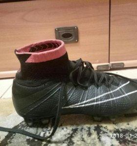 Бутсы Nike Mercurial IV с носком 39,5 размер