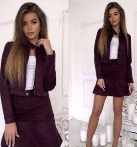 Костюм, пиджак+юбка