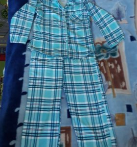 Пижама фланелевая