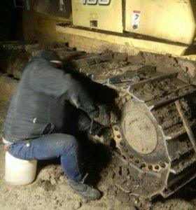 Выезд и ремонт спецтехники , грузовиков  24ч.