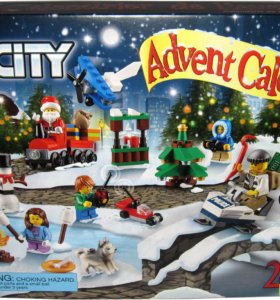 Лего 60099 CITY ADVENT CALENDAR раритет - 2015 г
