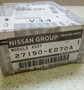 Резистор мотора отопителя Nissan tiida 27150-ED70A