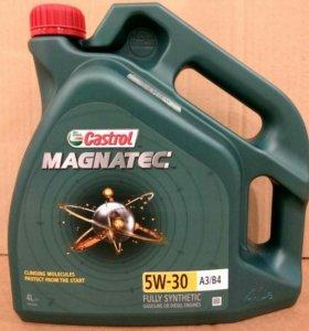 Моторное масло Castrol Magnatec 5W-30 A3/B4, 4л