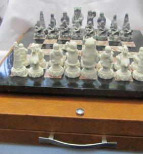 """Шахматы из камня """"Народы Севера"""""""