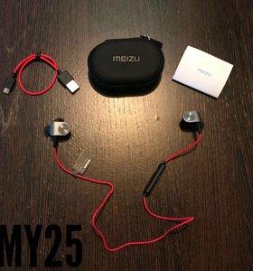 Беспроводные наушники Meizu EP51! Новые! ARMY25