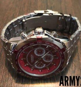 Часы CURREN! Стильные и практичные! Новые! ARMY25