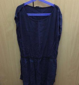 Платье хорошее синие
