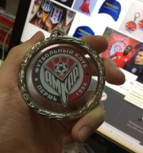 Медальон футбольного клуба Амкар