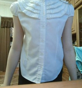 Блузка школьная-девчачья