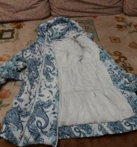 Слингокуртка 2-1 для беременных 48 размер