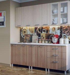 Кухня Карамель 2000 (Ясень шимо темный/Ясень св)