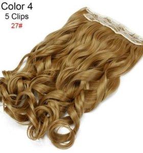 Волосы на 5ти заколках
