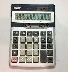 Калькулятор бухгалтерский STAFF STF-1312