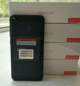"Xiaomi RedMi 4X 3/32Gb, 5"" LTE Новые,4100mAh"