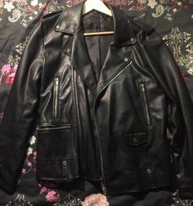 Новая Косуха /кожаная куртка Zara