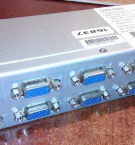 VGA-разветвитель на 8 мониторов