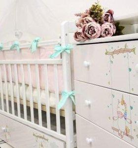 Комплект детской мебели Единорог