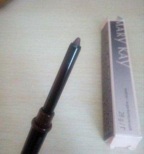 карандаш для глаз мери кей темно-коричневый новый