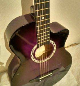 Гитара новая +чехол