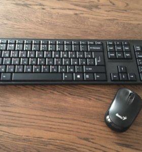 Клавиатура и мышь без проводная