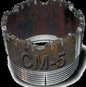 Коронки твердосплавные са-4 см-5 132мм
