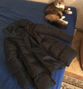Пуховик пальто zara