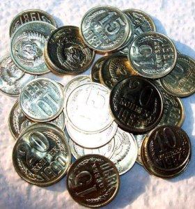 Монеты штемпельный блеск