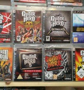 Guitar Hero (все части) PS3