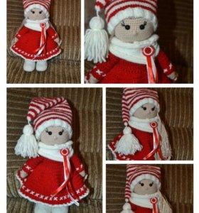 Вязаные куколки на заказ.