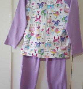 Спортивный костюм для девочки 110-116