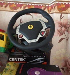 Игровой руль управления для компьютера или ноут.