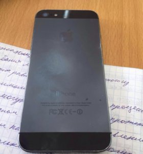 iPhone 5 16 gigabyte black