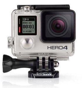 GoPro Hero 4 silver экшен камерв