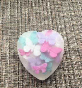 Мыло в виде сердца