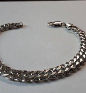 Браслет 22 гр. серебро 925°