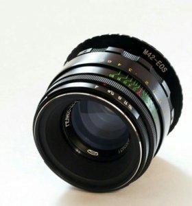 Гелиос 44-2 для Canon с чипом