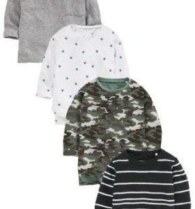 Next 4 новые футболки 110р