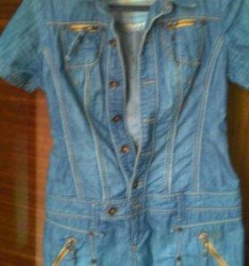 Платье Джинсовое р.48 xl