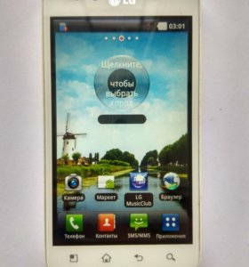 Смартфон LG Optimus Black P970