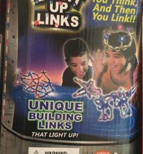 Светящийся конструктор Light up links 120 деталей