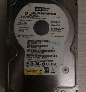 Жёсткий диск WD 320 gb