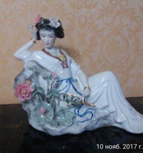 китайские вазы и статуэтки